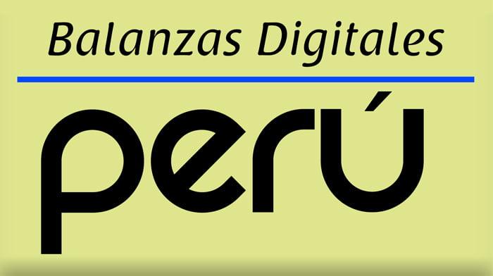 Balanzas Digitales Perú