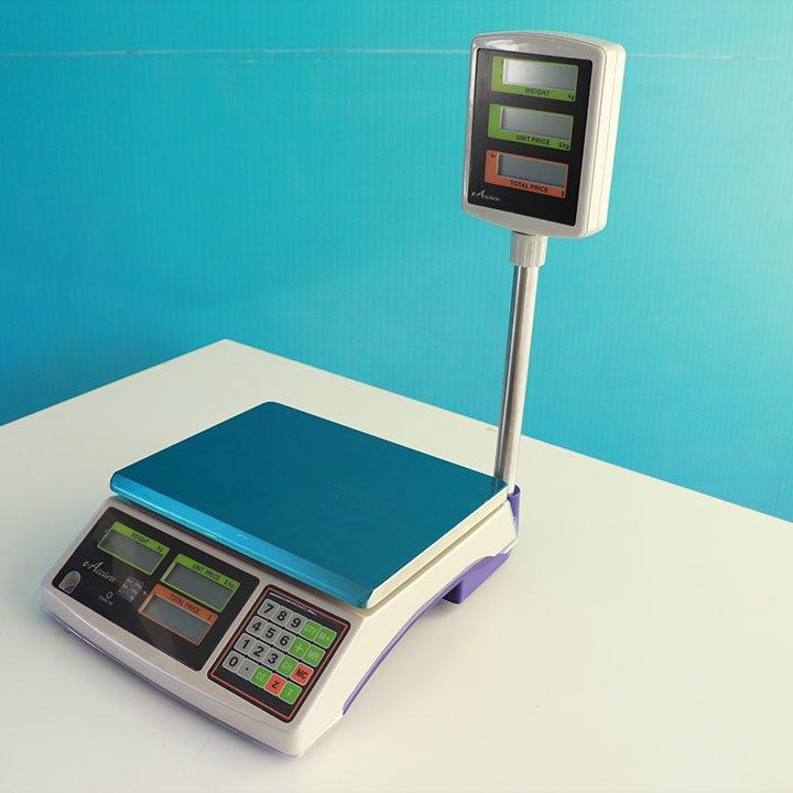 Balanza Digital Comercial e-Accura Con Torre de 30 kg