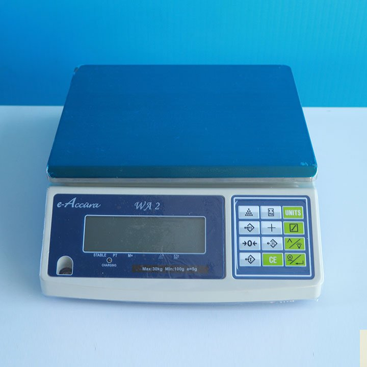 Balanza Digital Gramera e-Accura WA2 de 30 kg