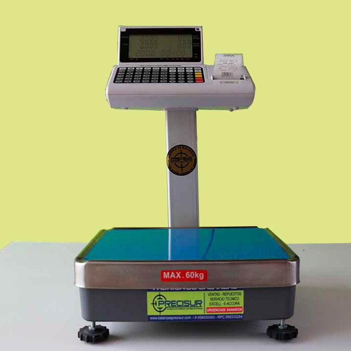 Balanza Digital Etiquetadora T-Scale PPP de 60 Kg