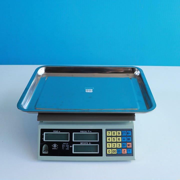 Balanza Digital Comercial Excell AM3 de 30 kg