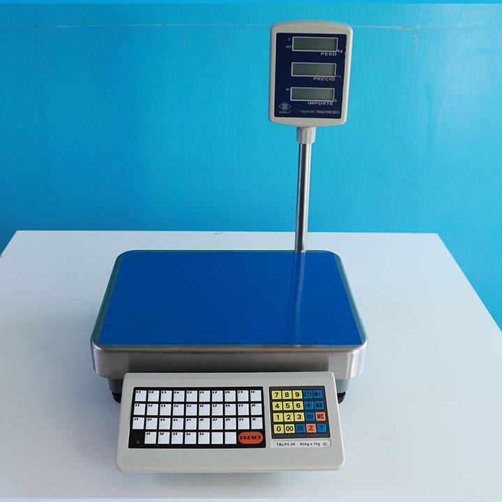 Balanza Digital Comercial Excell TBLP de 60 kg