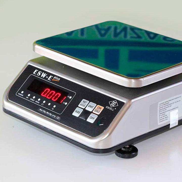 Balanza Digital Gramera Excell ESW-E Plus de 15 kg