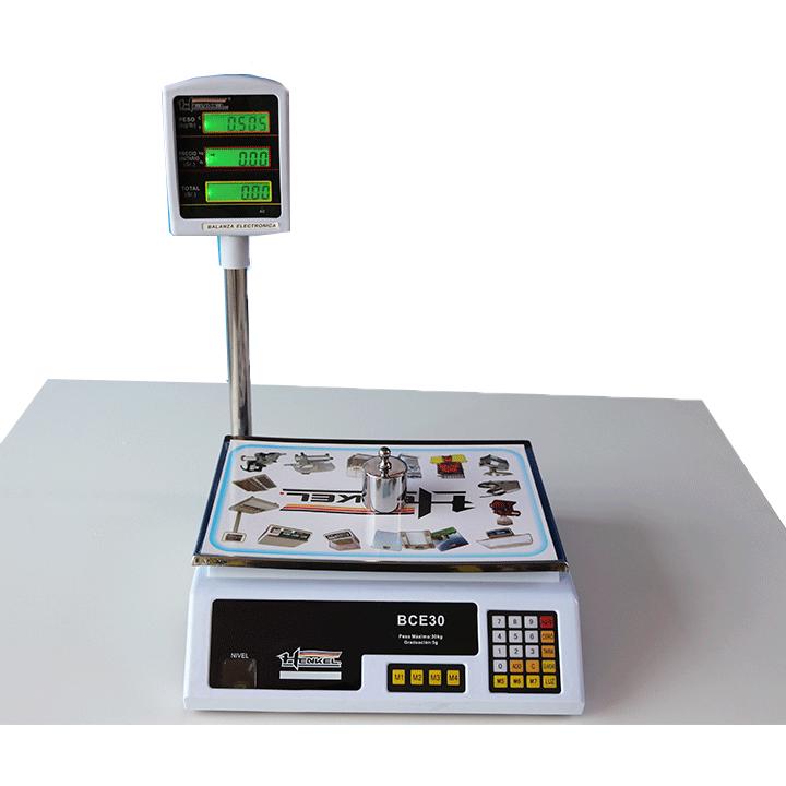 Balanza Digital Comercial Henkel BCE30 de 30 kg