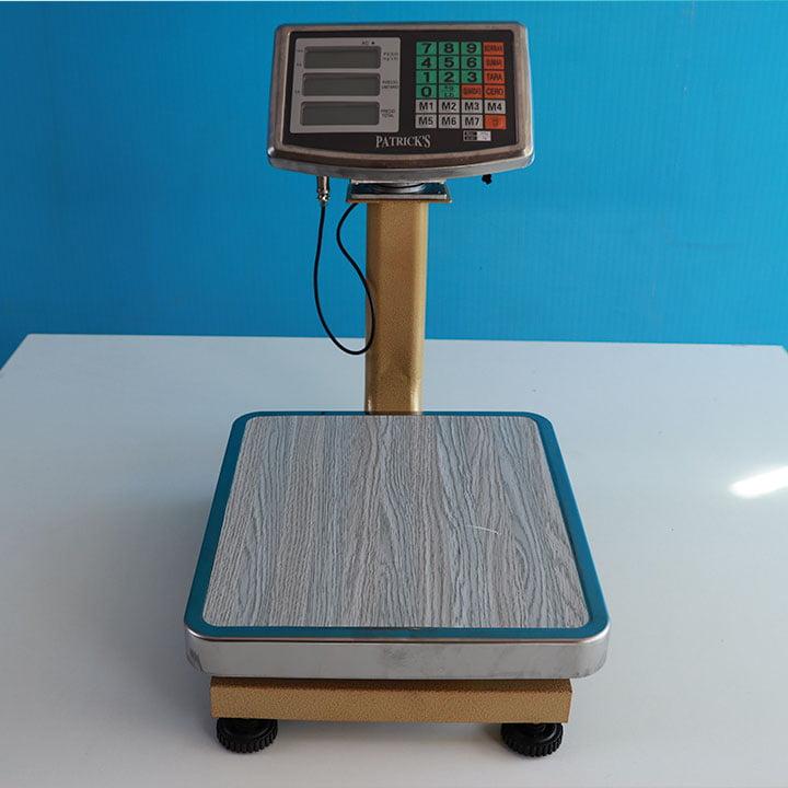 Balanza Digital de Plataforma Patrick's de 60 y 150 Kg