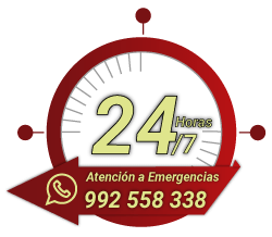 emergencia 24-7 pie de pagina